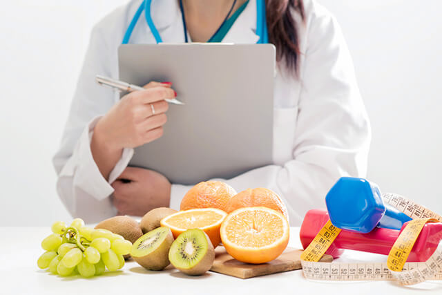 管理栄養士と果物